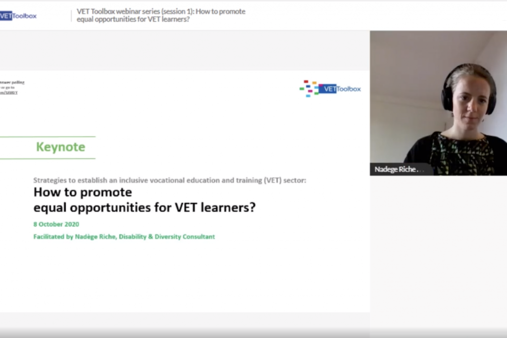 How to promote equal opportunities for VET learners?