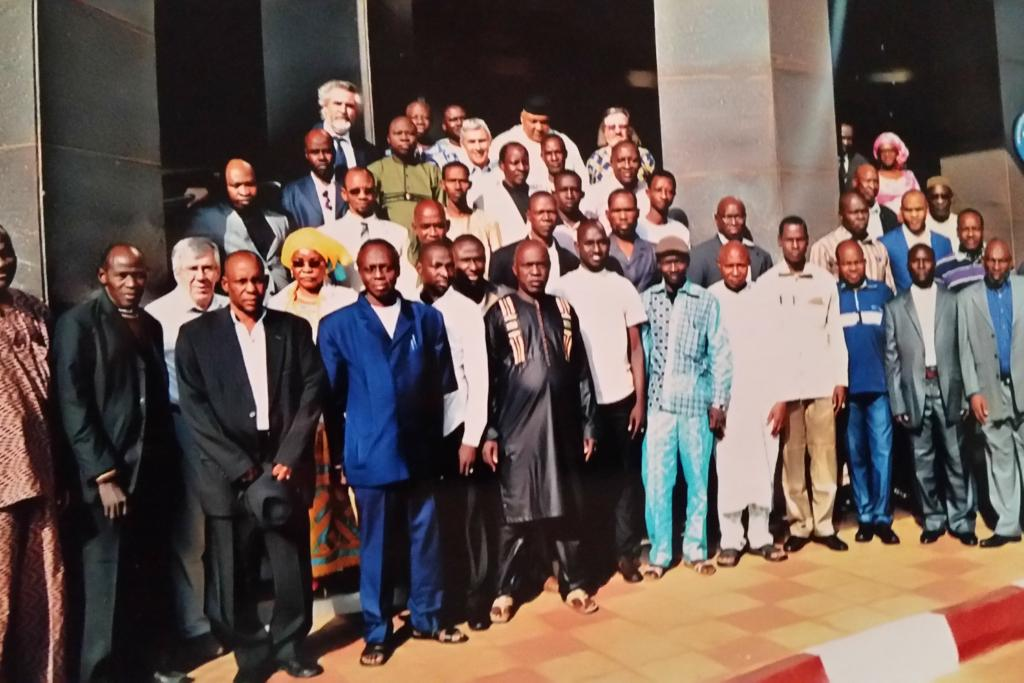 Members of the National Directorate of Technical and Vocational Education, Lux Dev and the National Directorate of Vocational Training in Mali